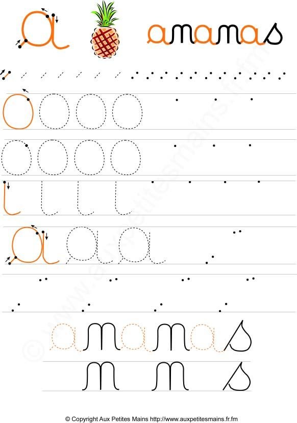Favori Plus de 25 idées uniques dans la catégorie Lettres cursives sur  UG78
