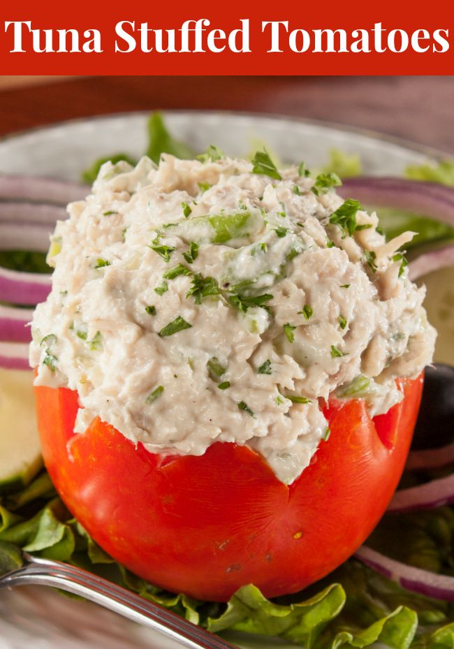 Our Tuna Stuffed Tomatoes will truly make you happy, because this recipe is as healthy as it is tasty.