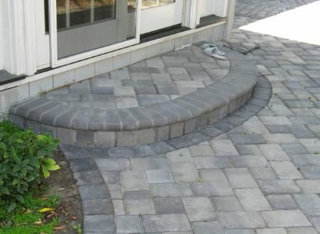 Steps And Porches Pavers Walkways Paver Steps