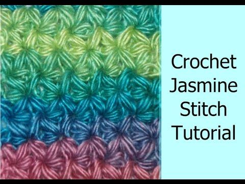 How to Crochet a Jasmine Star Stitch Part II, My Crafts and DIY Projects