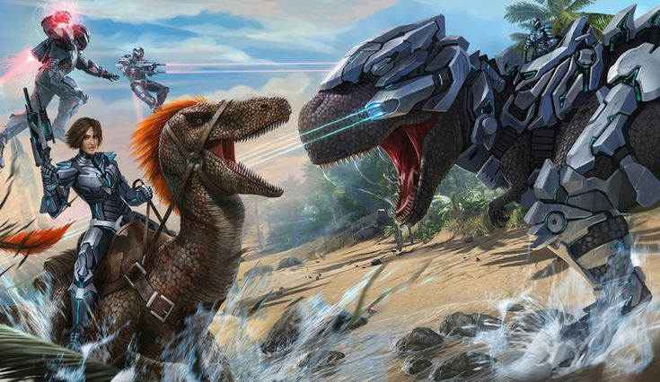 ARK Survival Evolved Fan Art ark arksurvival gaming