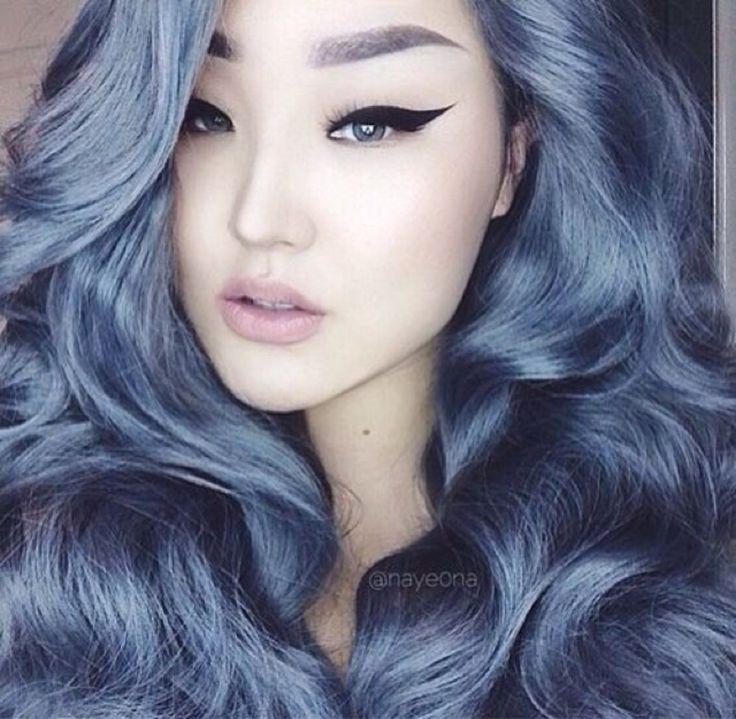 17 Best Ideas About Blue Grey Hair On Pinterest