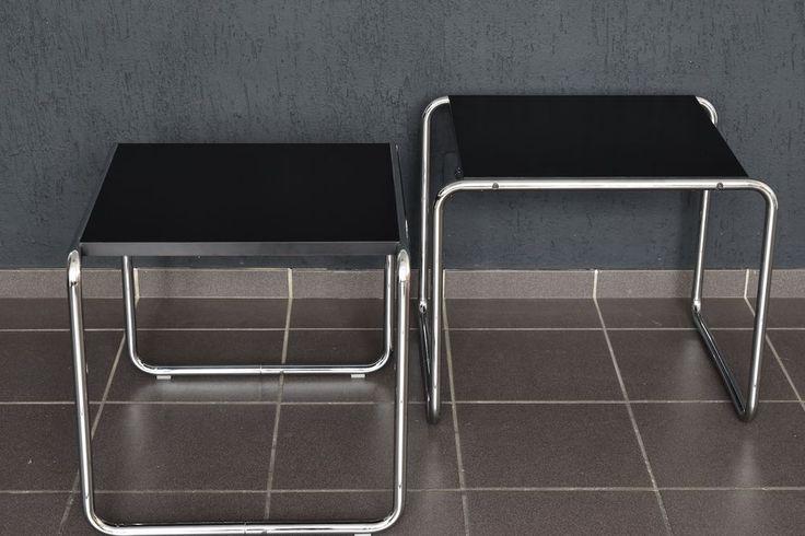 Vintage Laccio 1 Tisch von Knoll international Marcel Breuer 70er Jahre table