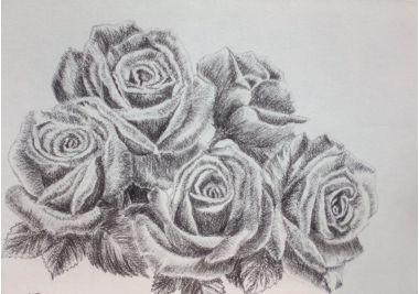 Картины :: Букет роз | Купить картину у художника