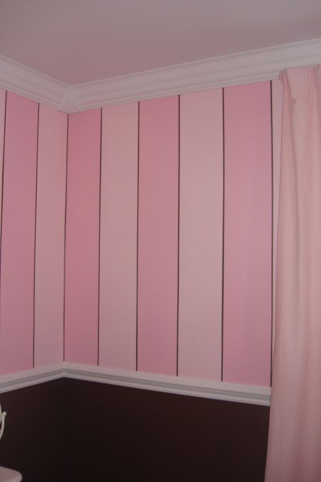 17 Best Ideas About Pink Striped Walls On Pinterest Teen