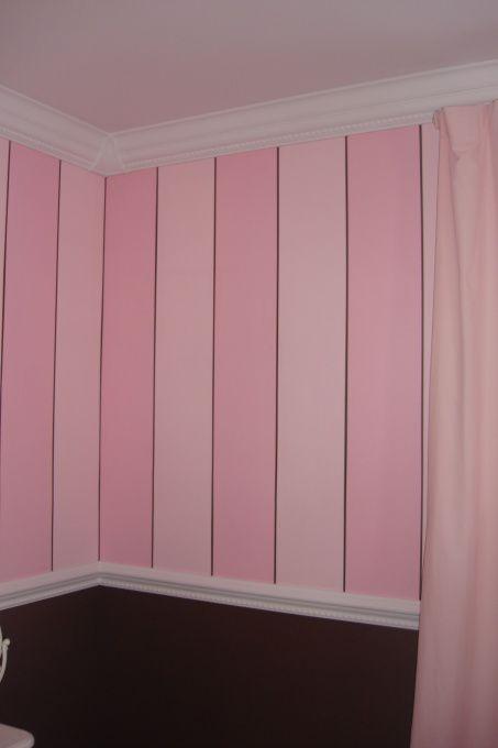 Best 25 Pink Striped Walls Ideas On Pinterest