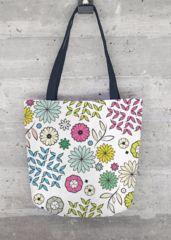 TOTE BAG FANTASY 6970 FLOWER:  À vendre dans mon shop Vida ! dubitch