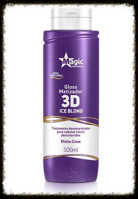 Gloss Matizador 3D Ice Blond Magic Profissional