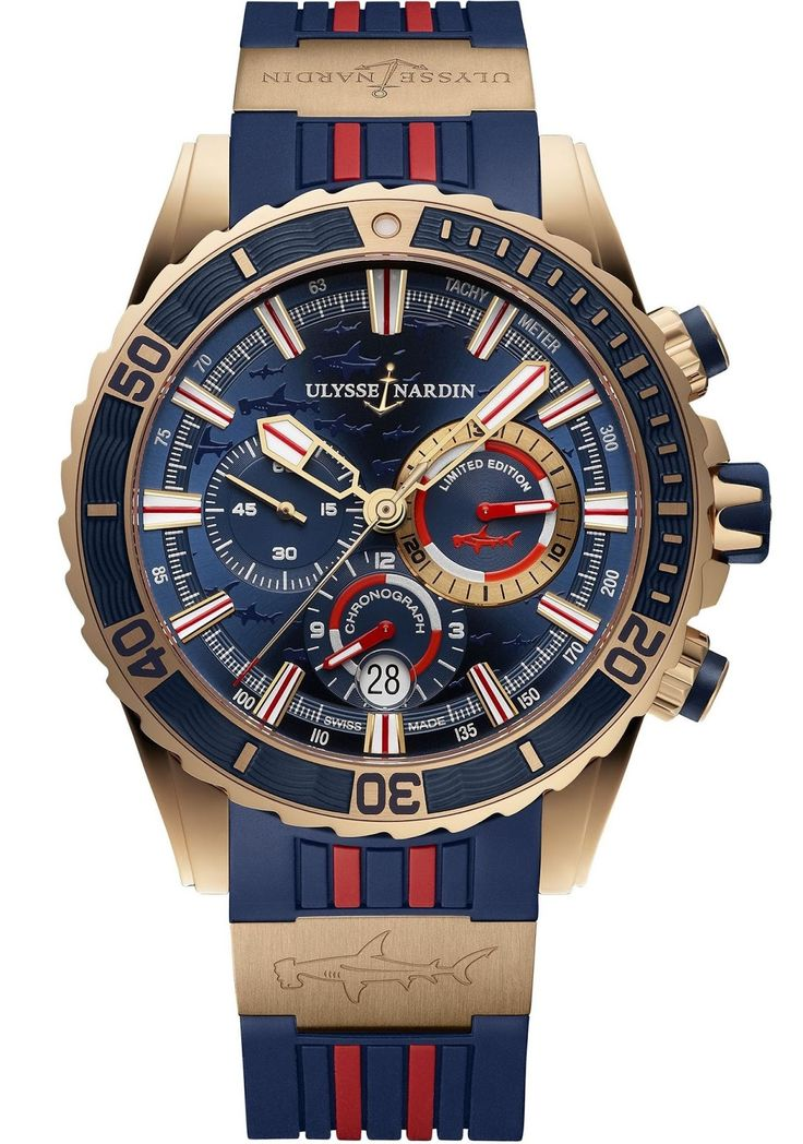 Ulysse Nardin Diver Chronograph Hammerhead Shark limited edition - Perpetuelle