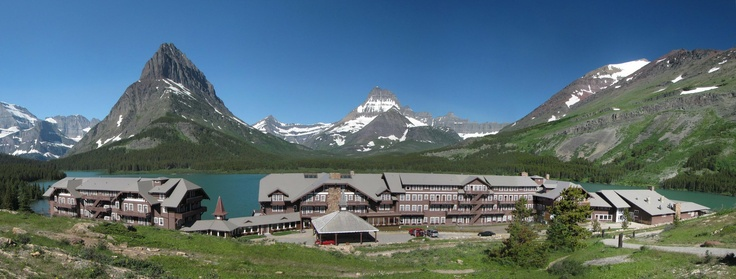 Stay at Many Glacier Hotel, Glacier National Park, Montana - Bucket List Dream from TripBucket