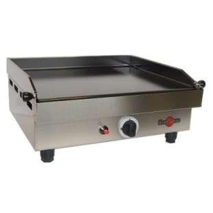 Plancha gaz fonte émaillée 48.2x40.9cm. Grande zone de cuisson permettant de cuire deux aliments différents en même temps sans occasionner de transfert de saveurs. Allumage par piezo. Système d'isolation thermique. Châssis inox. Aération renforcée. Robinet de sécurité (thermocouple). Dim.: (HxLxP) :23.1x57.5x48.5cm. Poids: 20kg. Alim.: gaz Butane / Propane ou Naturel. Location plancha gaz fonte émaillée à Obermorschwihr (68420) _www.placedelaloc.com