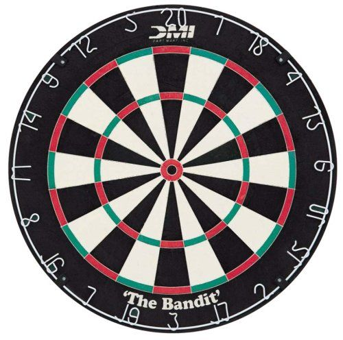 DMI Bandit Staple-free Bristle Dartboard DMI Sports http://www.amazon.com/dp/B000HJVAXA/ref=cm_sw_r_pi_dp_xgx8vb0CPM5VM