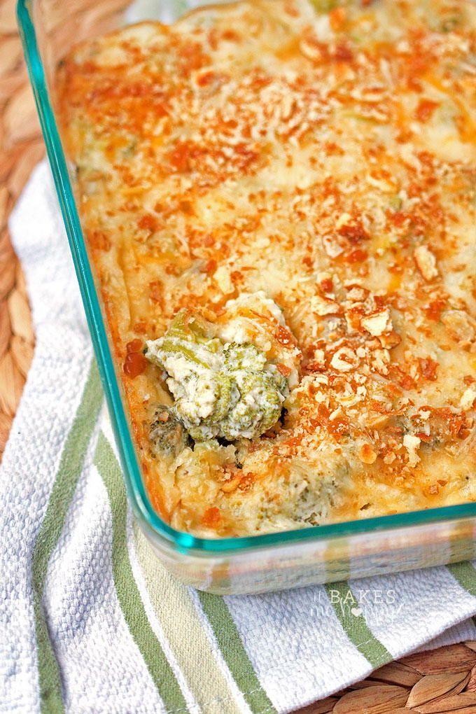 Grandma's Best Broccoli Cheese Casserole | FaveSouthernRecipes.com