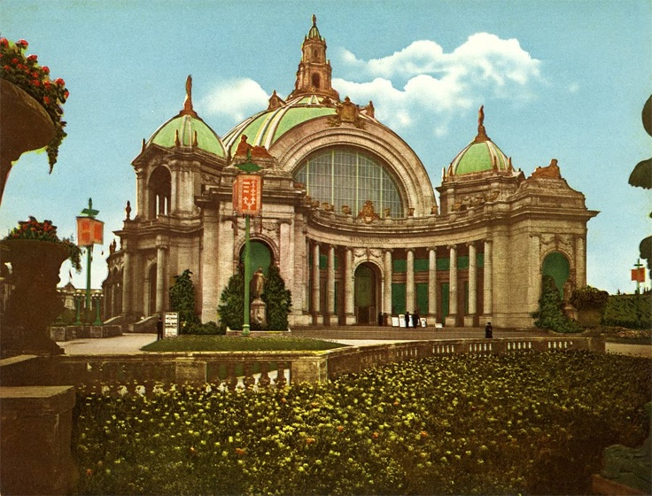 Image result for festival hall panama pacific exposition