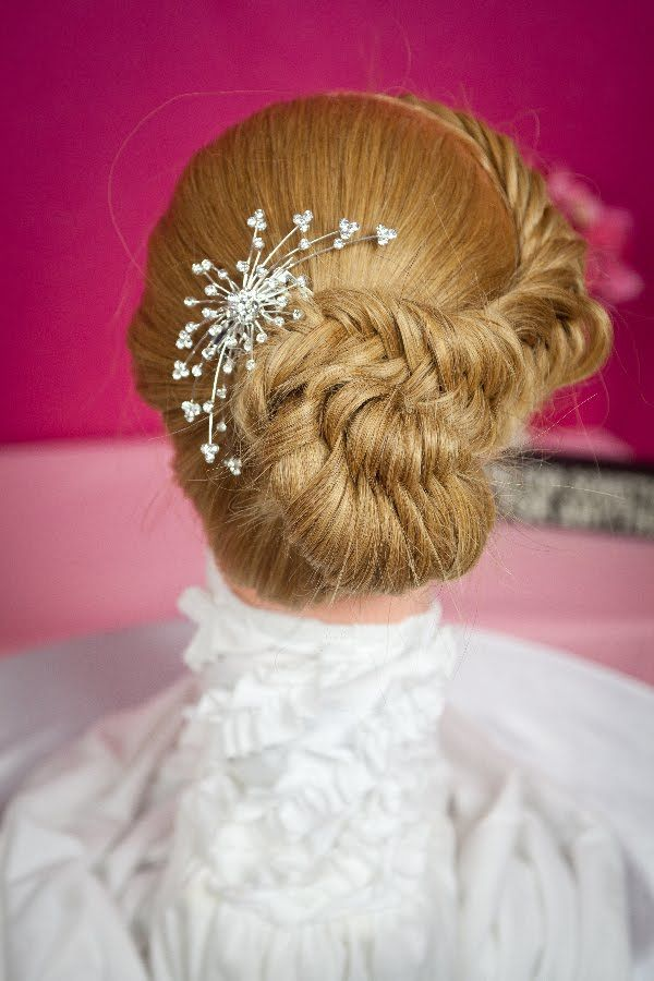 2 Strand Fishtail with Infinity Ponytail