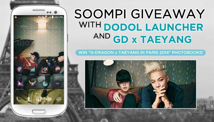[Exclusive] DL G-Dragon x Taeyang Mobile Theme   Win G-Dragon x Taeyang in Paris 2014 Photobook
