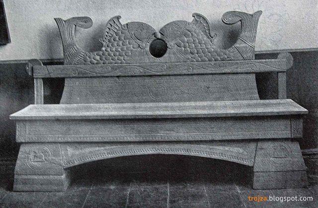 Диван для передней, 1903 г. Подмосковный краевед: Терем в Талашкине 109 лет…