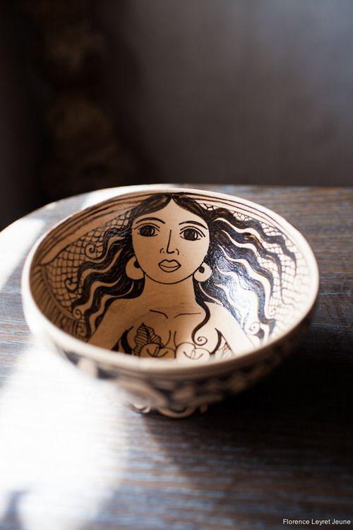 artisanos-de-michoacan: Artista Angelica Morales, ceramica con... - All things Mexico.