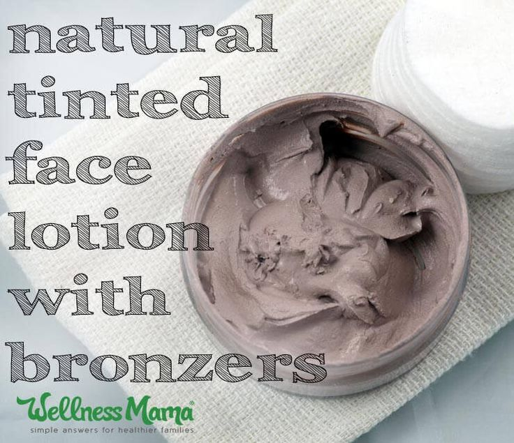 Naturally Tinted Homemade Tinted Face Lotion - If you like BB creams, CC creams, or tinted moisturizers but are looking for a more natural and more affordable option, give this a try.