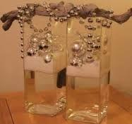 kerstversiering in glazen vaas - Google zoeken