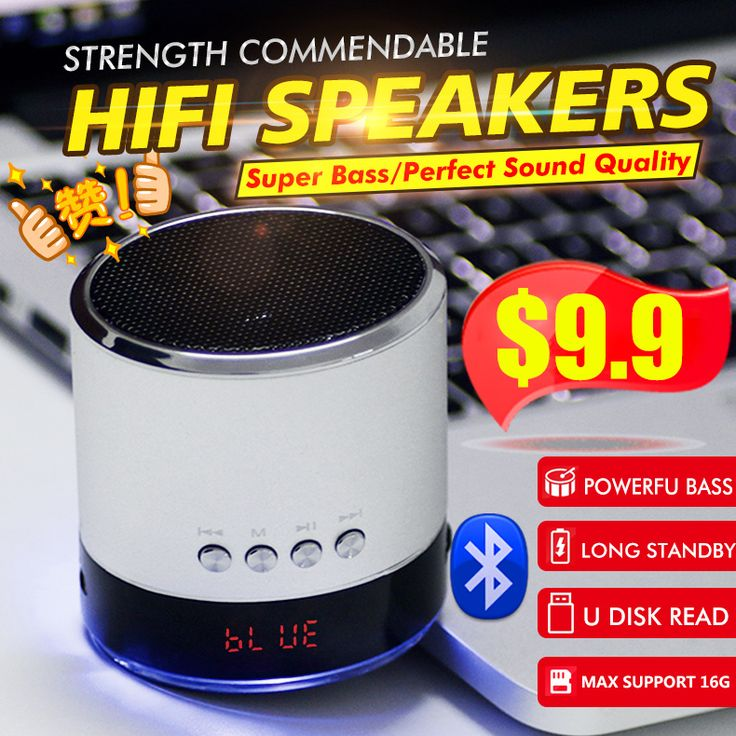 [S$9.90](▼72%)♣ Mini Bluetooth Speaker/bluetooth HIFI speaker /Large screen/Portable/Surround sound/Audio/speaker