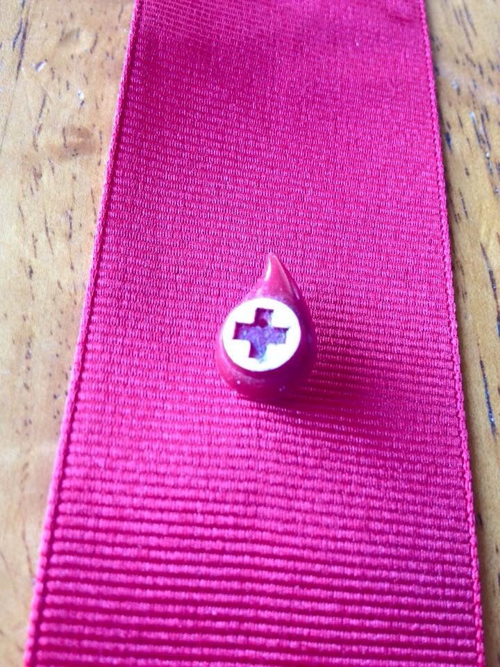 American Red Cross Donor Pin