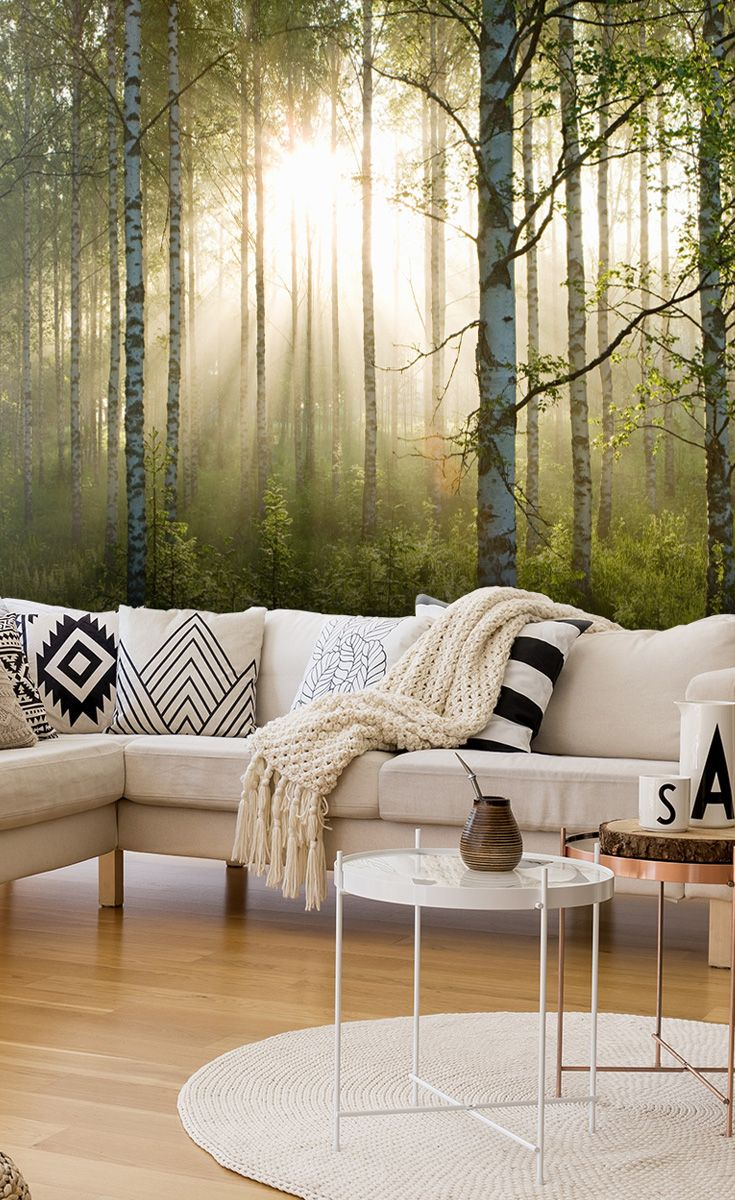105 best forest wall murals images on pinterest photo mural add some greenery to your lounge with this beautiful forest wall mural prices shown are amipublicfo Choice Image