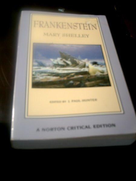 Critical essays of frankenstein
