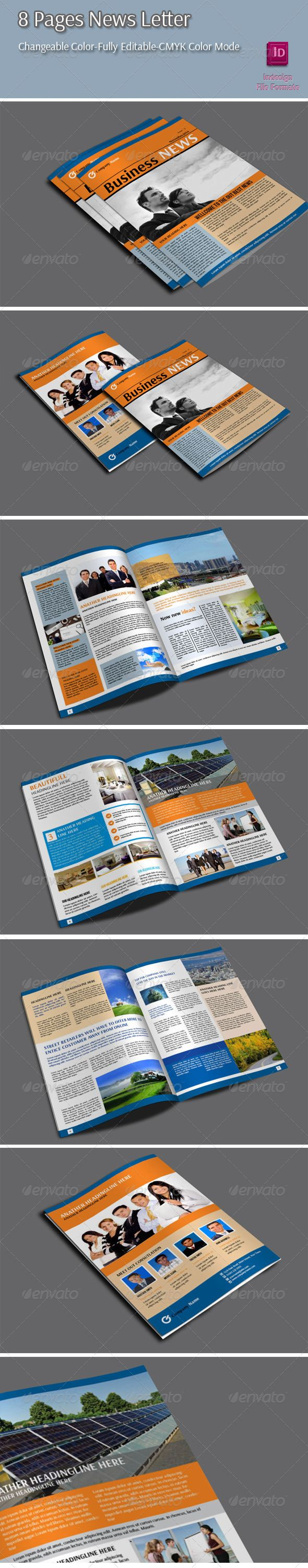 8 Pages Newletter - Newsletters Print Templates Download here : https://graphicriver.net/item/8-pages-newletter/6450642?s_rank=290&ref=Al-fatih