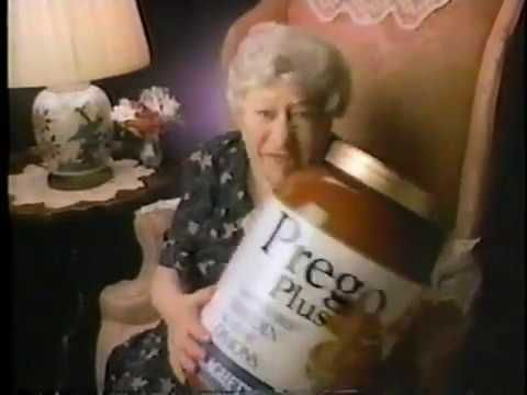 "Prego Plus Commercial (Clara Peller), 1985 Here's the infamous Prego ad that got Clara Peller fired from her Wendy's ""Where's the beef?"" campaign. Wendy's was peeved that she was implying that she found beef elsewhere and unceremoniously gave her the heave-ho. No rights held or implied."