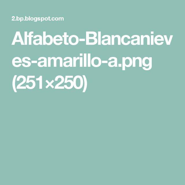 Alfabeto-Blancanieves-amarillo-a.png (251×250)