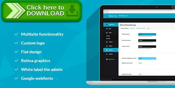 [ThemeForest]Free nulled download Retina Press - Wordpress admin theme from http://zippyfile.download/f.php?id=52654 Tags: ecommerce, admin, admin template, admin theme, custom admin, custom wordpress admin, dashboard theme, modern admin, wordpress admin, wordpress admin template, wordpress backend, wordpress custom backend, wordpress custom dashboard, wordpress damn template, wordpress dashboard, WordPress Login