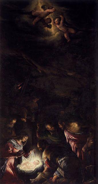 Προσκύνημα των βοσκών (1590-91) Άγιος Γεώργιος Ματζόρε στη Βενετία