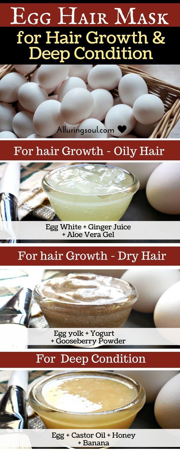 how to grow hair with eggs