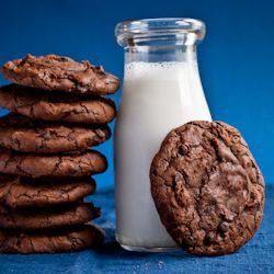 Chocolate Brownie Cookies - that He says look good :)