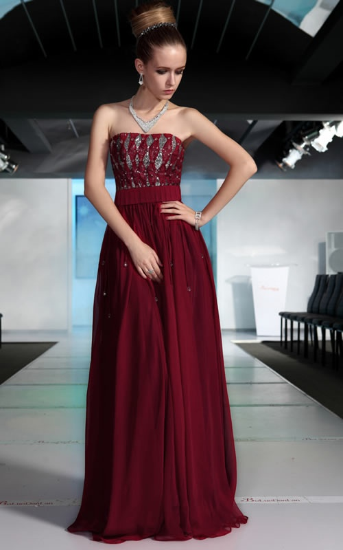 100 Or Less Price Was In British Pounds Would Be Nice With Some Chiffon Like Sleeves Dark Ruby Red Colored Silver Accents Bri