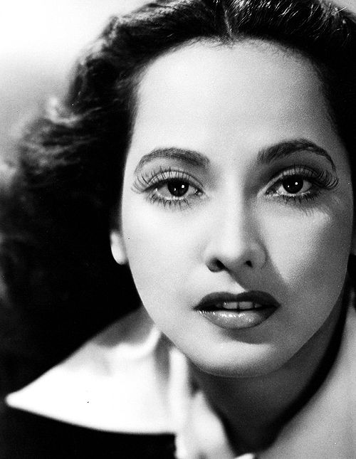 Merle Oberon- Anglo Indian Actress and the face for many early Hollywood movies.