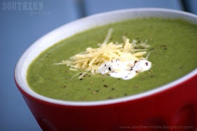 Healthy Cream of Broccoli Cheese Soup Recipe