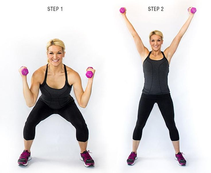 4 steps to perfect squats!