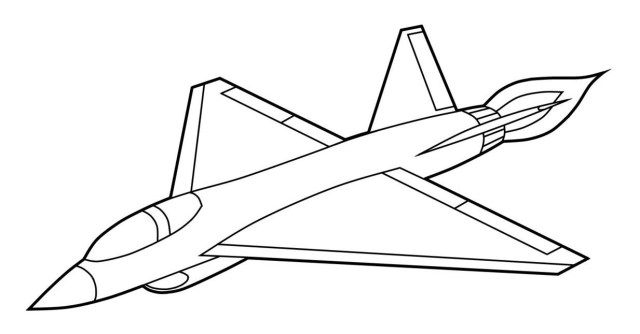 Aircraft Coloring Pages Airplane Coloring Pages Coloring Pages Plane Drawing