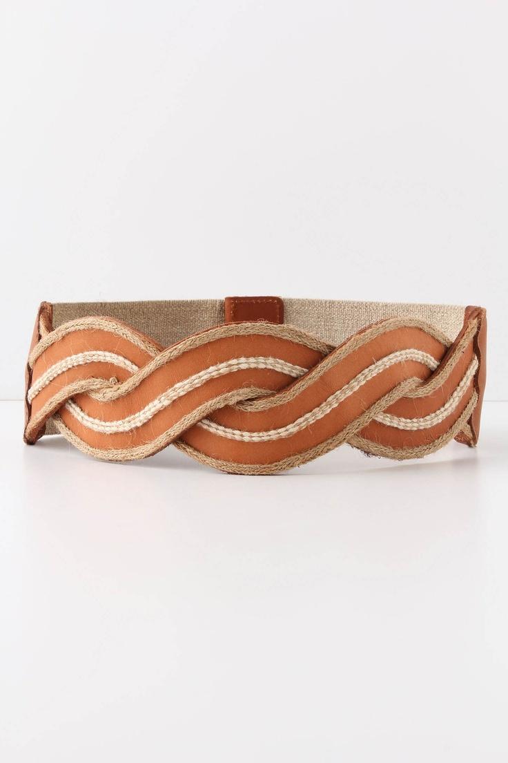 Woven Waves Belt