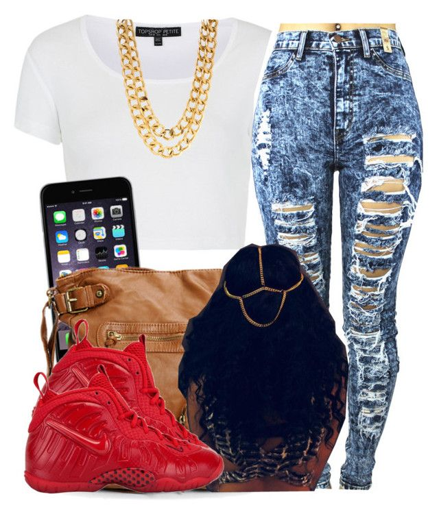 """When you realize xmas break is almost over with "" by trillest-queen ❤ liked on Polyvore featuring Topshop and NIKE"