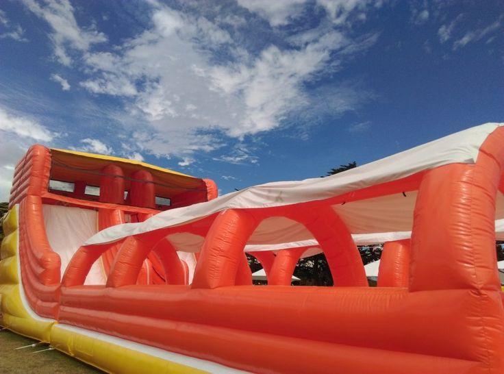 HOT: Splashland Inflatable Water Slide Park, Mornington Racecourse and Caulfield Racecourse http://tothotornot.com/2016/12/splashland/