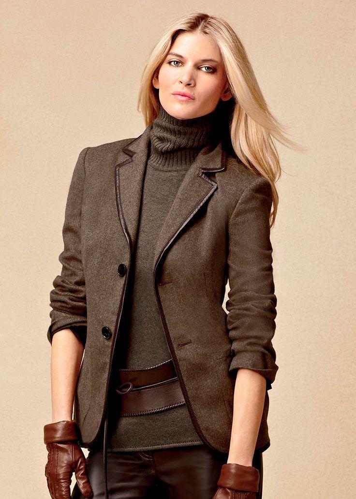 """Марлен Дитрих стОит сказать """"великое спасибо!"""" за такую чудесную вещь в женском гардеробе как пиджак!"""