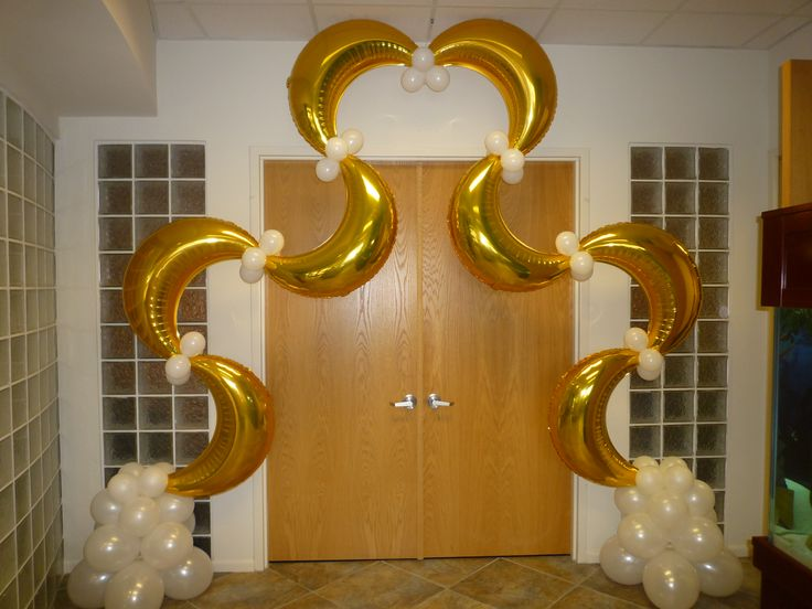 Decoracion Bodas De Oro ~   de globos para celebracion boda quinceanera bodas de oro matrimoniales