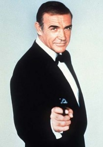 Sean Connory as 007!