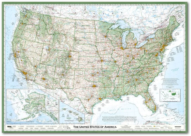 selected best new map in north america for 2010 by the cartography and geographic information society map of usaus