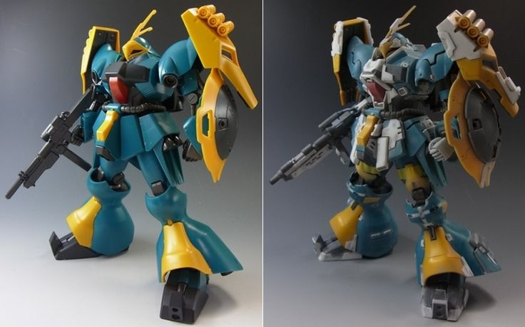 A well piece from sagiyy. From a normal HGUC Jagd Doga, it came out very detail. Panel lined and plastic plate add the value on its des...