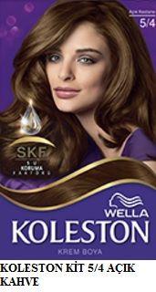 Koleston 2017 Saç Renk Kartelası - Koleston açık kahve saç boyası 5/4