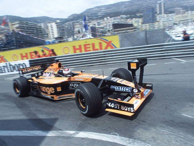 Jos Verstappen - Arrows A22 (Asiatech) - 2001 - Monaco